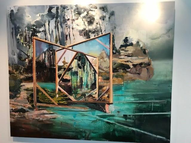 Un tableau de Martin Golland de la collection BLG